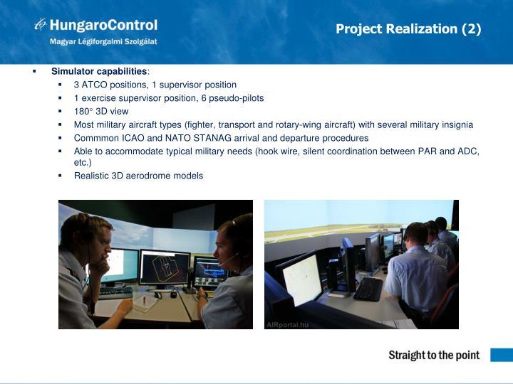 Project Realization (2)