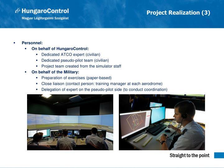 Project Realization (