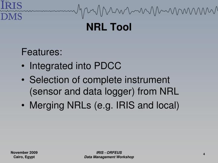 NRL Tool
