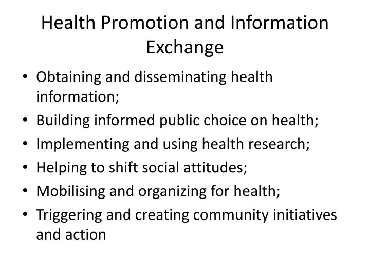 promoting and facilitating informed choice Promoting informed choice: transforming health care to dispense knowledge for   aids cannot replace the human element in facilitating informed choice.