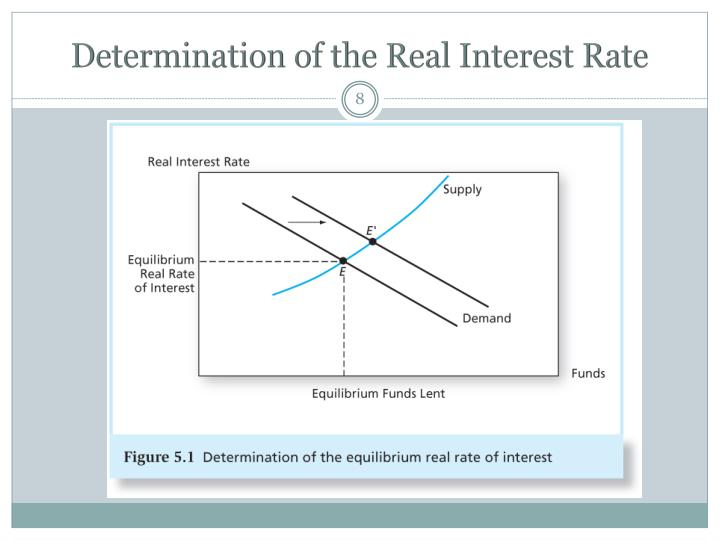 Determination of the Real Interest Rate