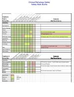 clinical pathology safety safety walk audits