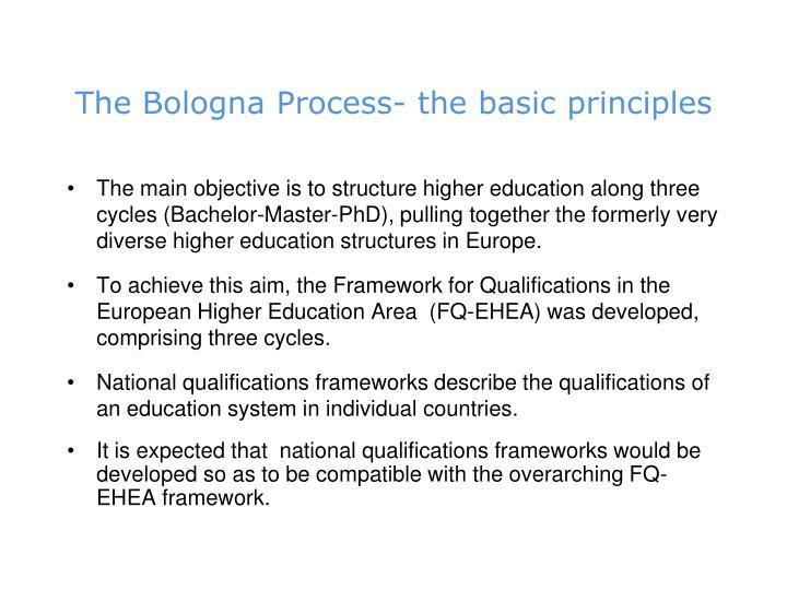 The Bologna Process-