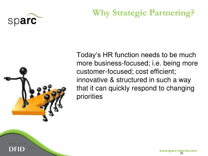 Why Strategic