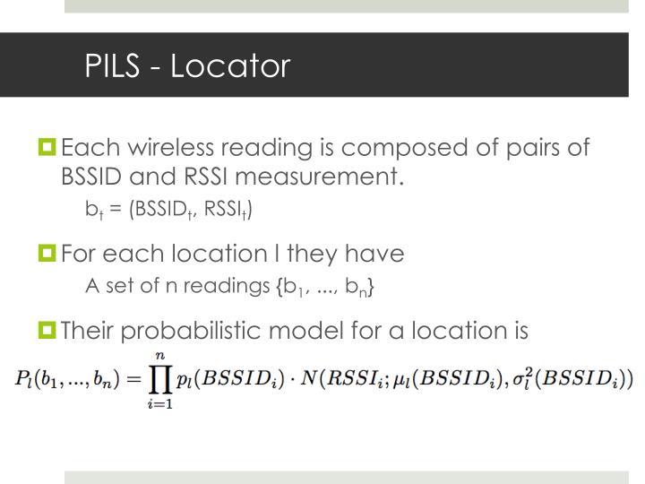 PILS - Locator