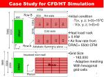 case study for cfd ht simulation