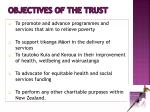 objectives of the trust1