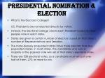 presidential nomination election