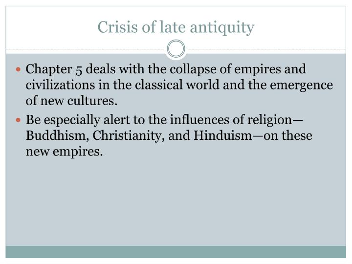 Crisis of late antiquity