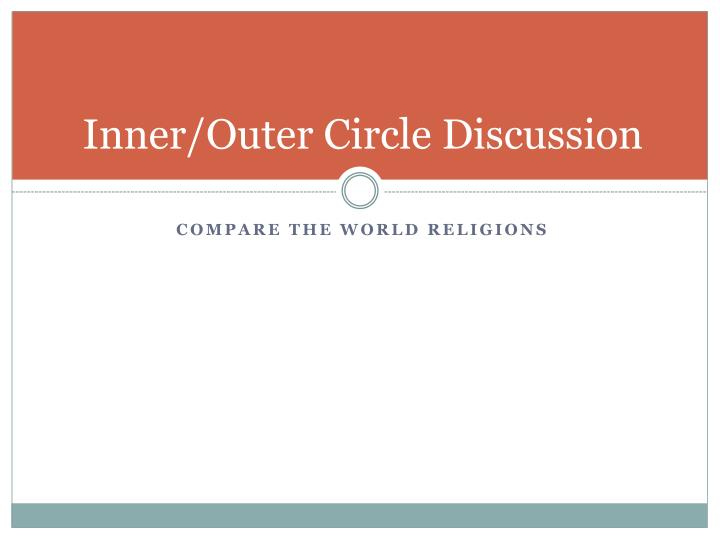 Inner/Outer Circle Discussion