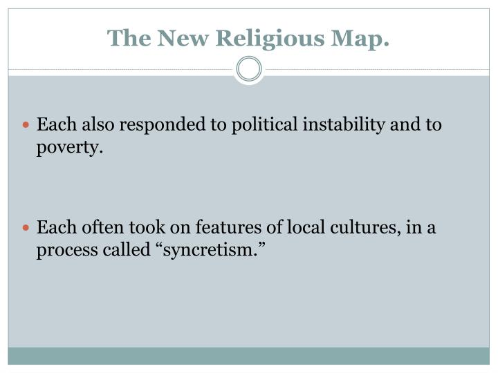 The New Religious Map.