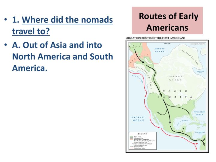 Routes of early americans
