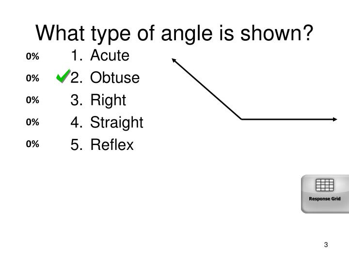 What type of angle is shown