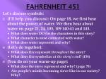 fahrenheit 4511
