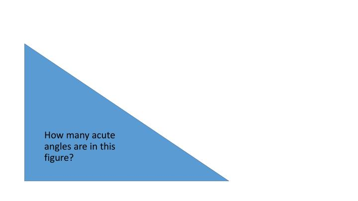 How many acute angles are in