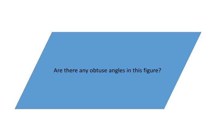 Are there any obtuse angles in