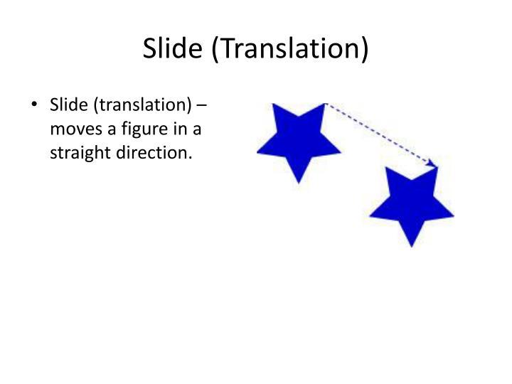 Slide (Translation)
