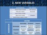 2 new variables