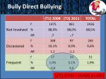 bully direct bullying