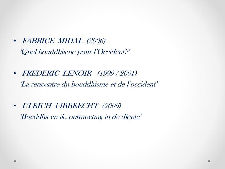 FABRICE  MIDAL  (2006)