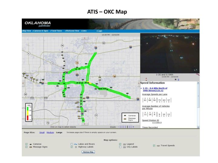 ATIS – OKC Map