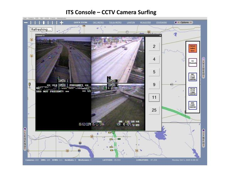ITS Console – CCTV Camera Surfing