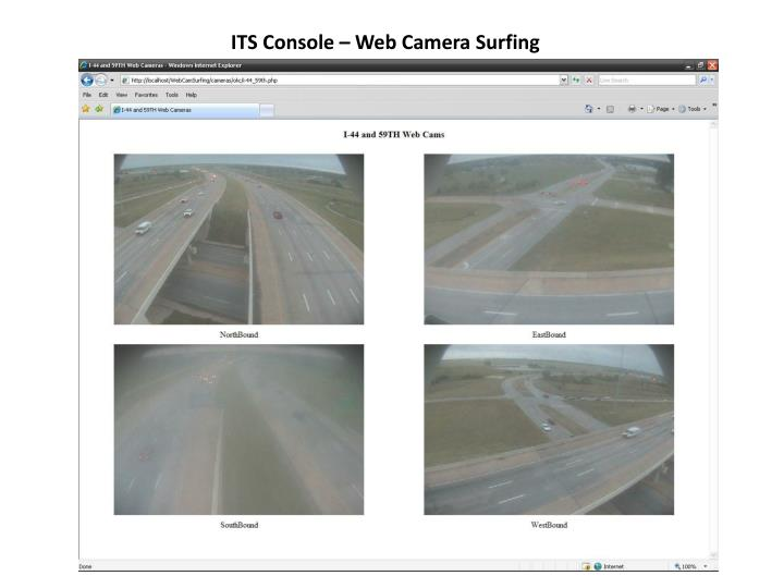 ITS Console – Web Camera Surfing