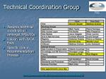 technical coordination group