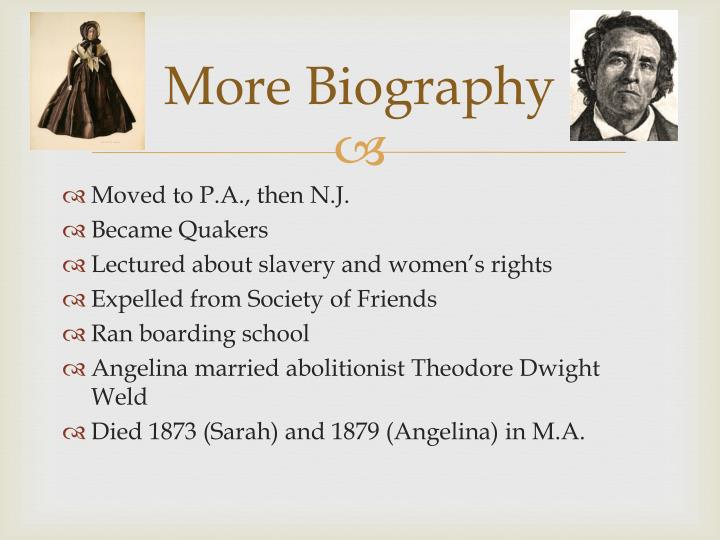 More Biography