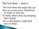 the first noel verse 1
