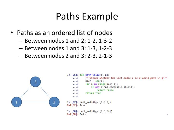 Paths Example
