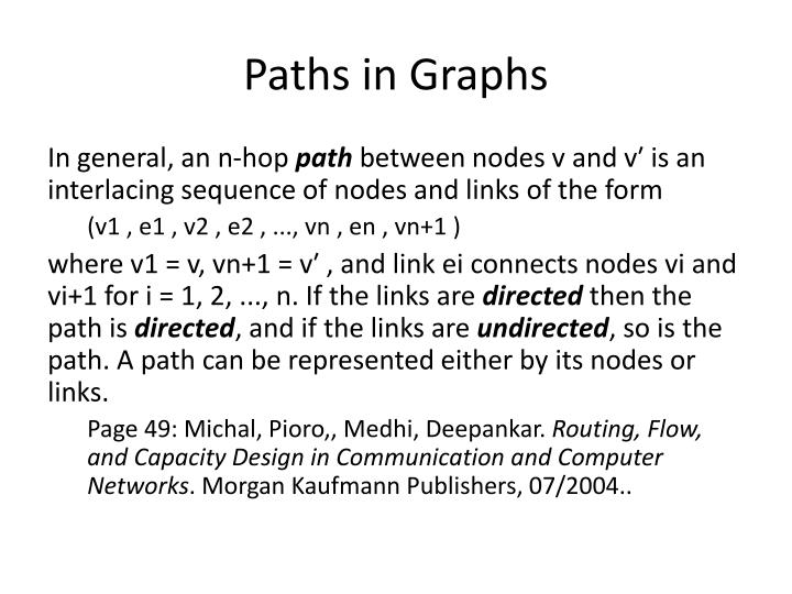Paths in Graphs