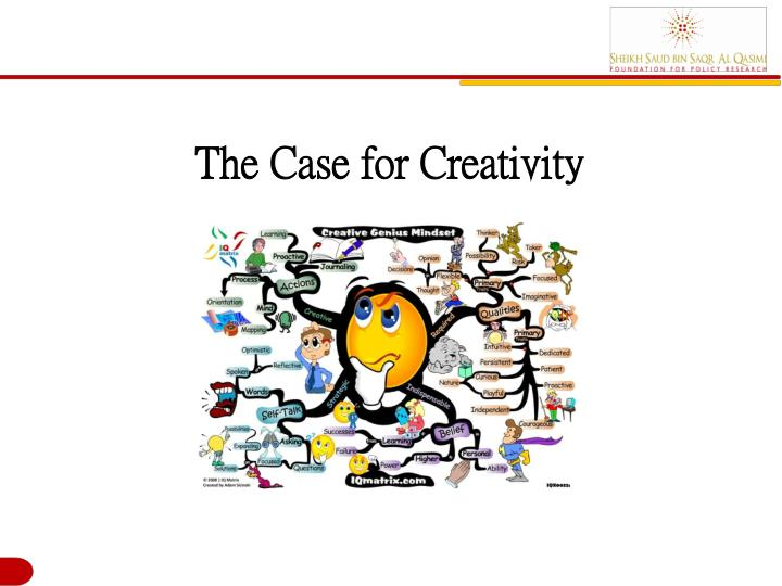 The Case for Creativity