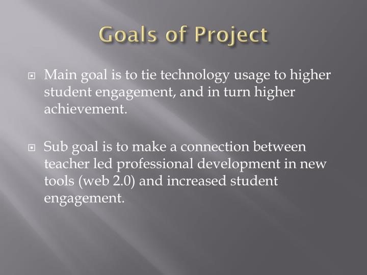 Goals of Project