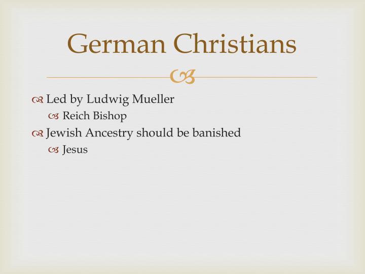 German Christians