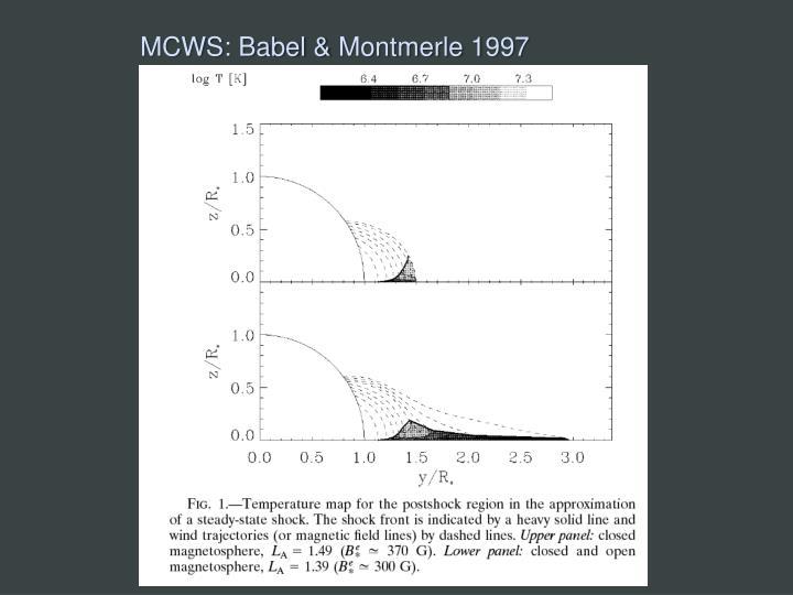 MCWS: Babel &