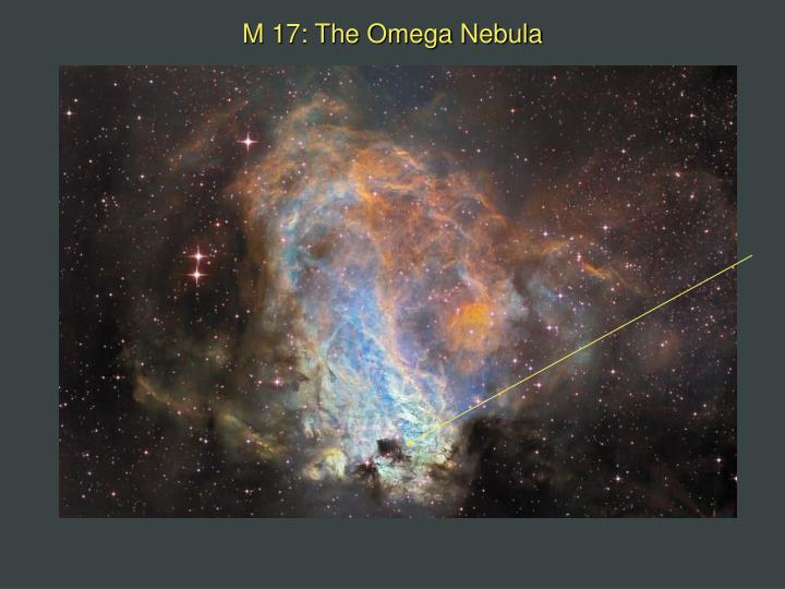 M 17: The Omega Nebula