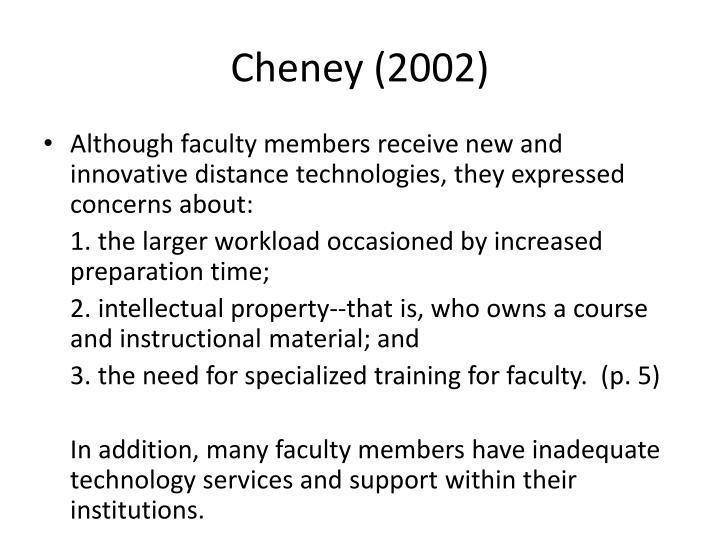 Cheney (2002)