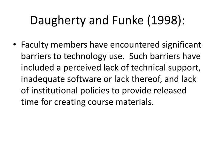 Daugherty and