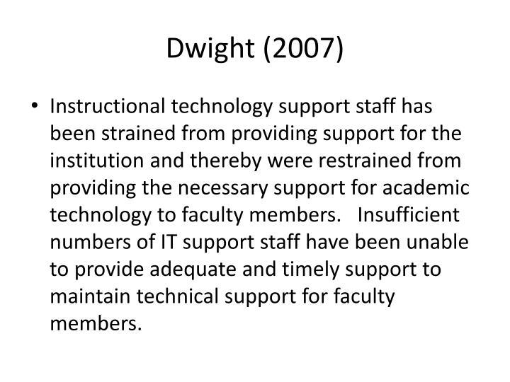 Dwight (2007)