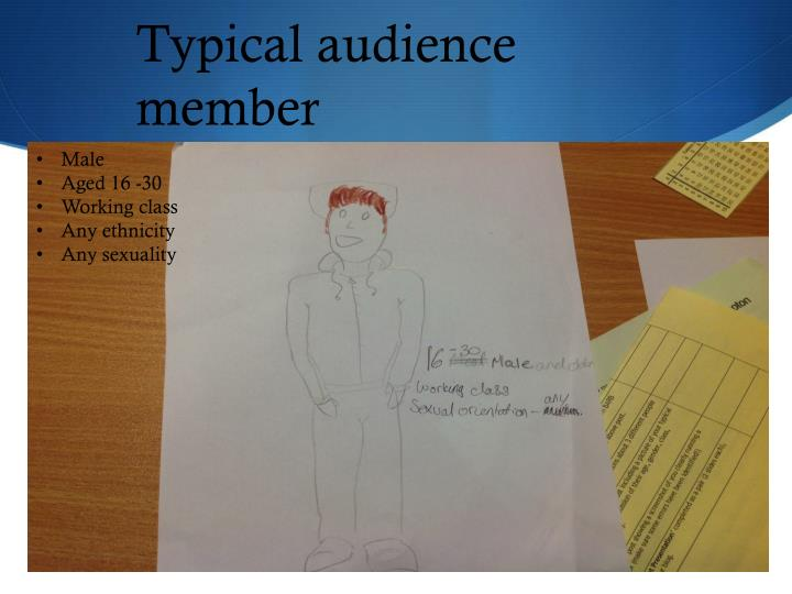 Typical audience member