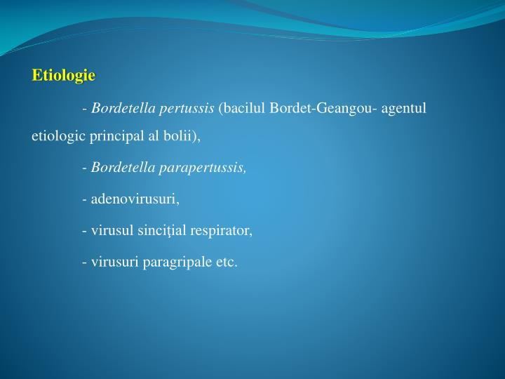 Etiologie