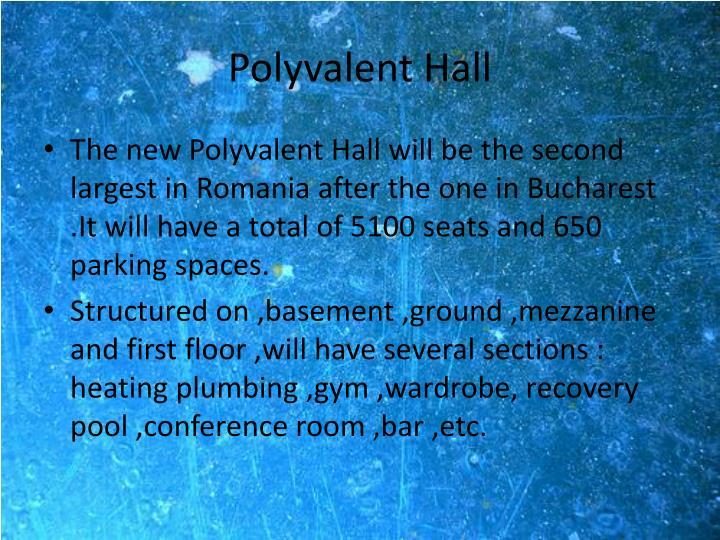 Polyvalent Hall