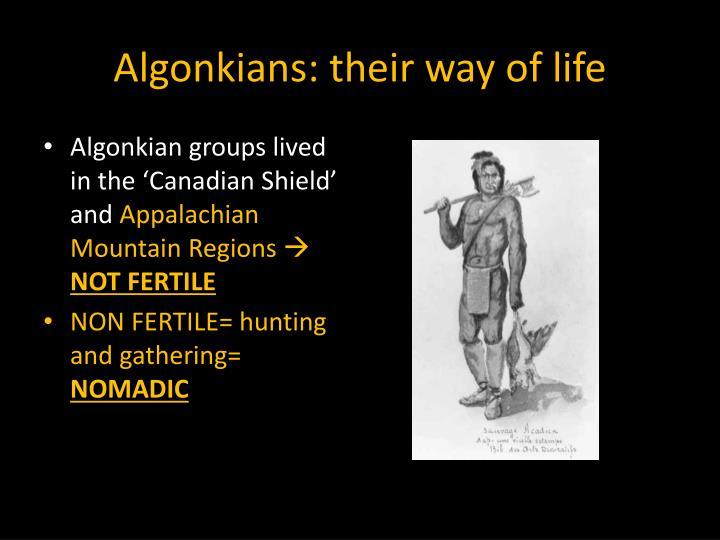 Algonkians