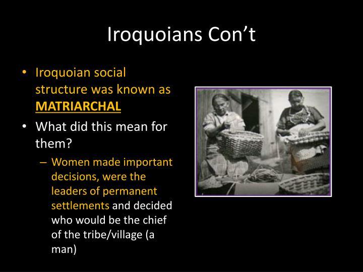 Iroquoians