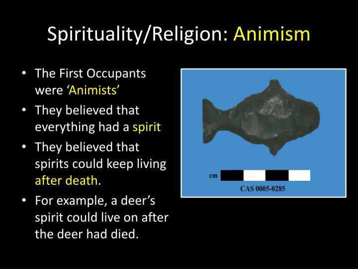 Spirituality/Religion: