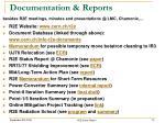 documentation reports