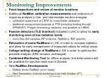 monitoring improvements