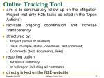 online tracking tool