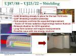 uj87 88 uj23 22 shielding